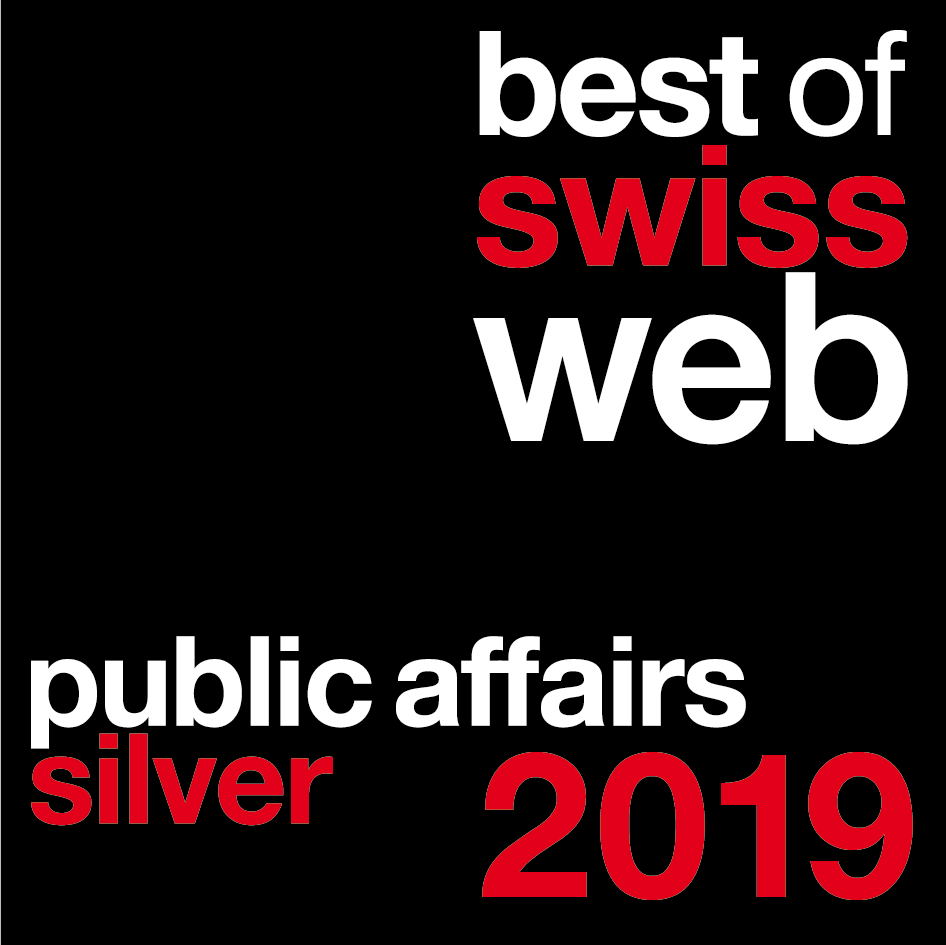 Best of Swiss Web Award 2019