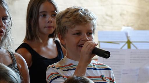 Komponieren und singen im Ritterhaus