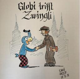 Globi trifft Zwingli
