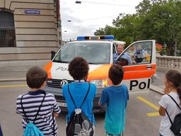 Besuch bei der Polizei