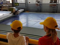 Abfall und was daraus entstehen kann: Besuch beiFREITAG lab. ag