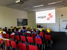 Besichtigung des Rega-Center Zürich Flughafen