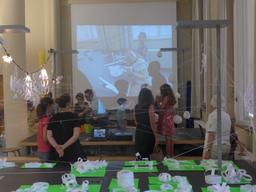 Die Materialforscher im Museum für Gestaltung