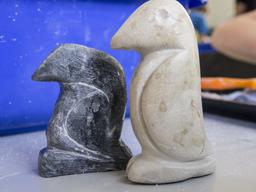 Kleine Bildhauerin / kleiner Bildhauer