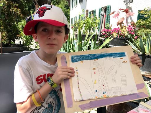 Gemeinsames Zeichnen für Kinder und Eltern